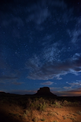 Fajada Butte Moonlight.