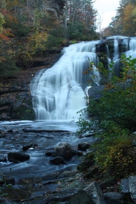 Autumn At Bald River Falls