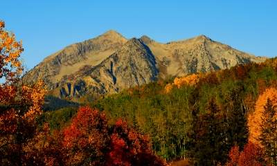 Autumn Near Marcellina Mountain