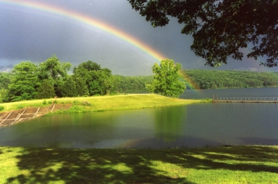 Rainbow Over Sunnen Lake