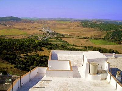View From Vejer Rooftop
