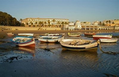 Cadiz At Low Tide