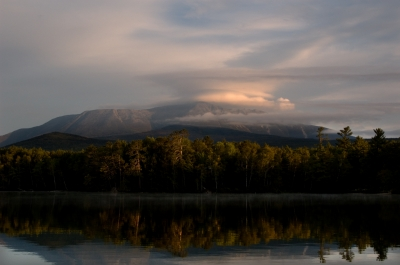Mount Katahdin At Dawn