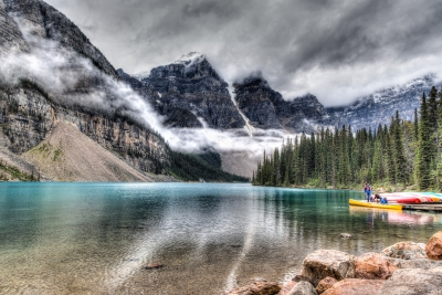 Mystical Moraine Lake