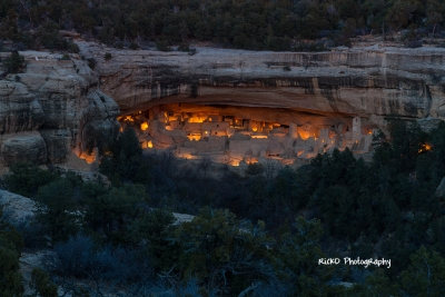 Cliff Palace Aglow