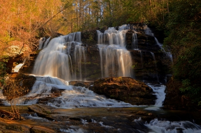 Lee Creek Falls