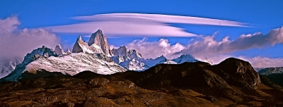 Clouds Over Mount Fitzroy