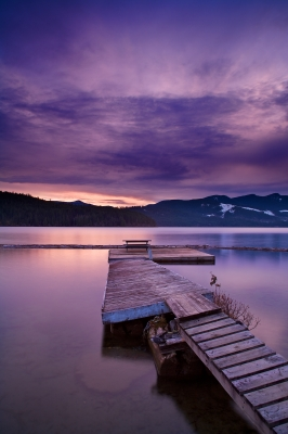 Cowichan Lake Sunset