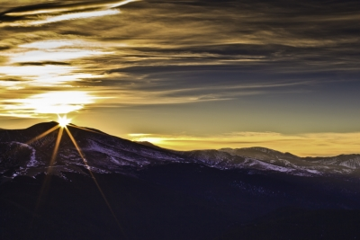 Sunset From Chief Mountain