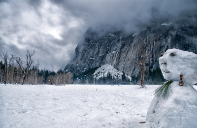 Snowmen Of Yosemite