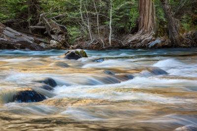 Merced River Spring Runoff, May 2014