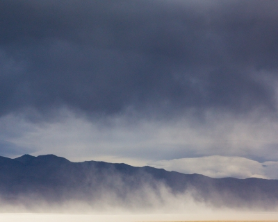 Storm And Dust, Owens Lake