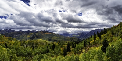 Mcclure Pass In Early Fall