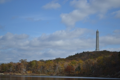 High Point Monument In The Fall