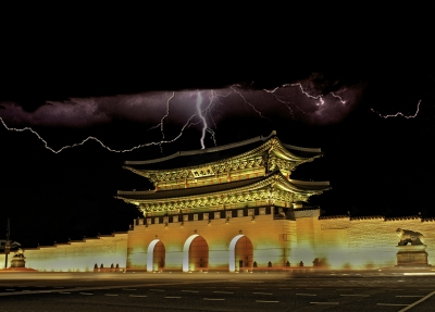 Gyeongbok Palace Electrical Storm