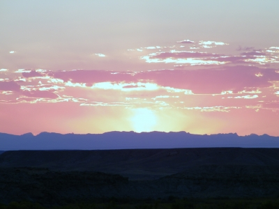 Wind River Canyon Sunset