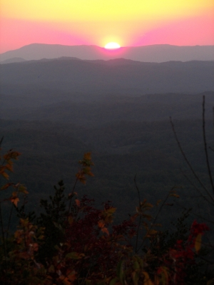 Sunset Over Cherokee