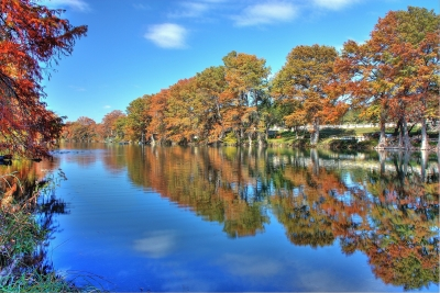 Reflections On The Guadalupe River