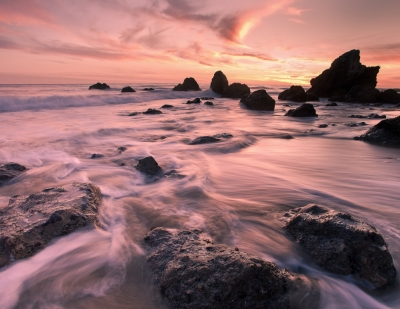Winter Sunset, El Matador Beach