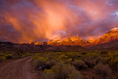Sunrise On The Eastern Sierras