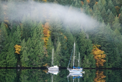 Tod Inlet – Fall Reflections.