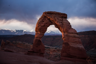 Sunrise At Delicate Arch