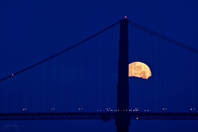 The Moon And The Bridge