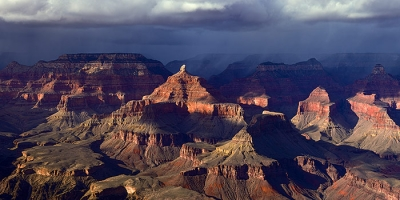 Storm Over The North Rim