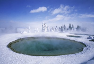 West Thumb Basin, Yellowstone National Park