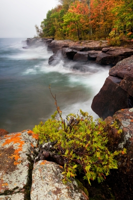 Stormy Fall Day On Madeline Island