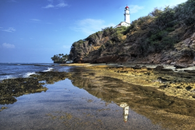 Diamond Head Lighthouse Reflection