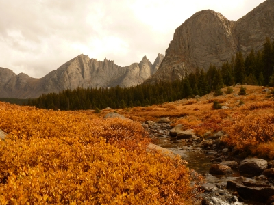 Cirque Of The Towers In Fall