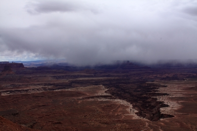 Spring Shower In Canyonlands