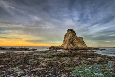 Rialto Rocks At Sunrise