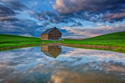 Jenkins Barn & Reflection
