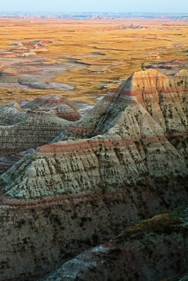 Badlands Evening Glow