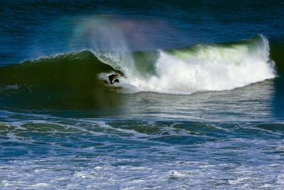 Surfing In A Rainbow