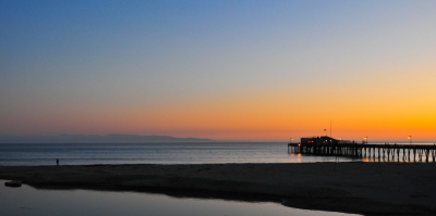 A Sunset Over Capitola