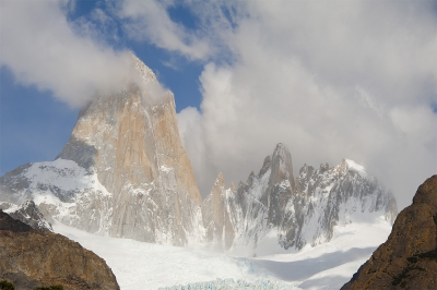 Foot Of The Fitzroy Massif, Patagonia