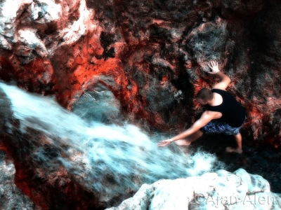 Aldin At Bloody Waterfall