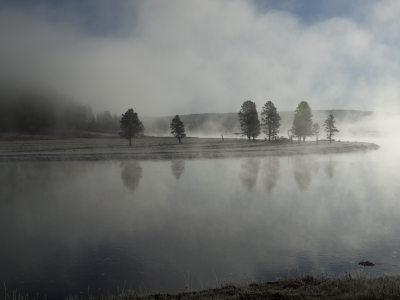 Early Morning On The Yellowstone River