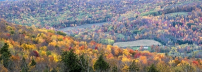 Fall Foliage Panorama – Pa Mountains