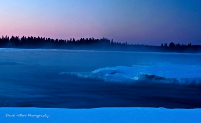 River Ice… Sunset Waters