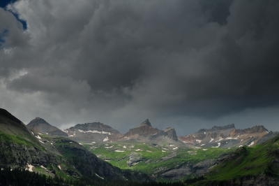 Ice Lakes Basin Thunderstorm