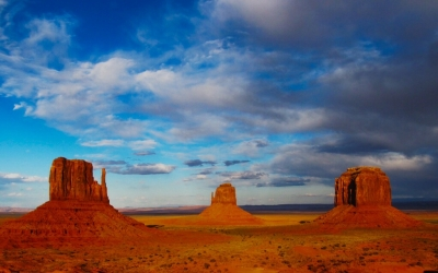 Rumblings Over Monument Valley