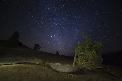 Meteor Shower At Olmsted Point