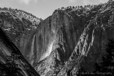 Upper Yosemite Falls From The Mist Trail