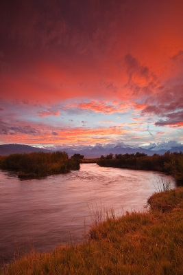 Owens River Sunset