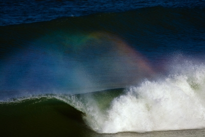 Rainbow In The Surf