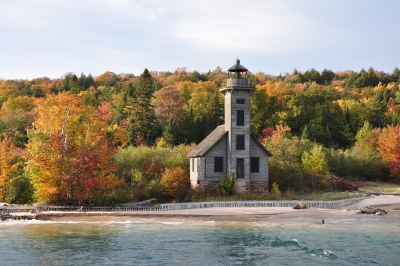 Lake Superior Grand Island East Channel Lighthouse